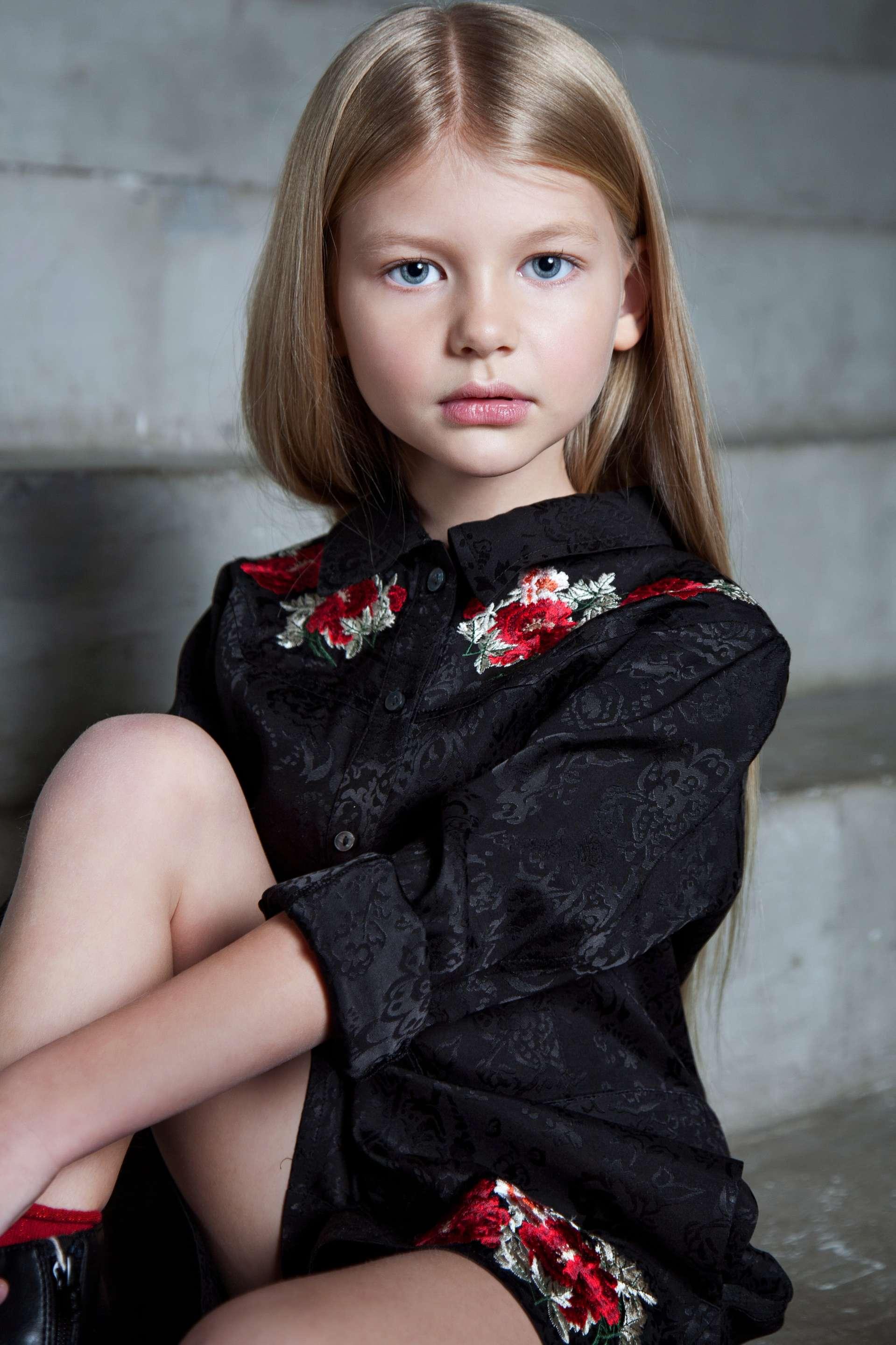 Дети с модельной внешностью фото